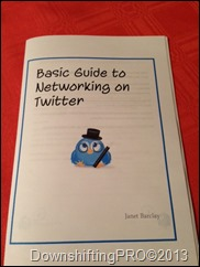 BasicGuidetoNetworkingonTwitter_Janet  Barclay_ DownshiftingPRO